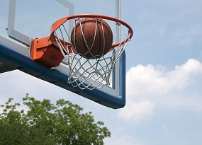 Your biggest essentials: the ball and the hoop